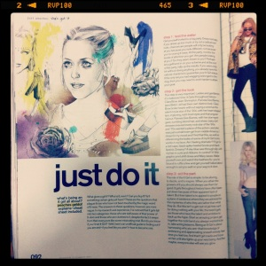 ' Just Do It ' Peaches Geldof